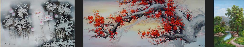 Lia Gallery menjual lukisan