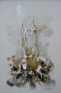 Lia Gallery Lukisan Abstrak Terang Bagiku