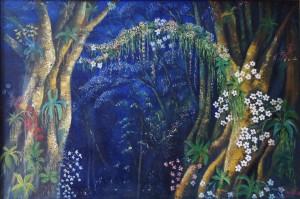 Lukisan Anggrek Hutan - Lia Gallery - Natural