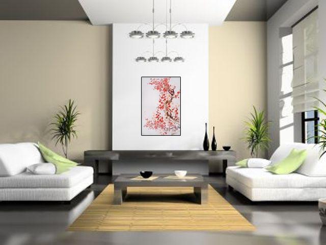 Lukisan Bunga Sakura - Lia Gallery - Natural Interior