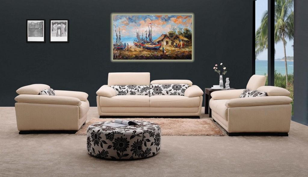 Lukisan Kapal- Lia Gallery - Natural Interior