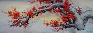 Lukisan Sakura - Lia Gallery - Natural
