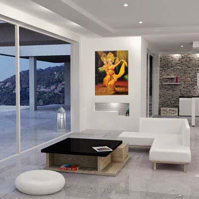 Lukisan Tari Bali - Lia Gallery - Natural